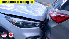 Ultimate North American Cars Driving Fails Compilation – 317 [Dash Cam Caught Video]
