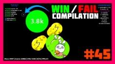 Agar.io – Win / Fail Compilation #45