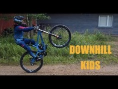 Extreme Sport Downhill and Freeride For KIDS ❤