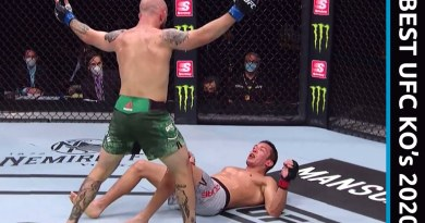 BEST UFC KNOCKOUTS OF 2020
