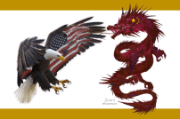 America-Eagle-versus-China-Dragon-fight-battle-war-illustration