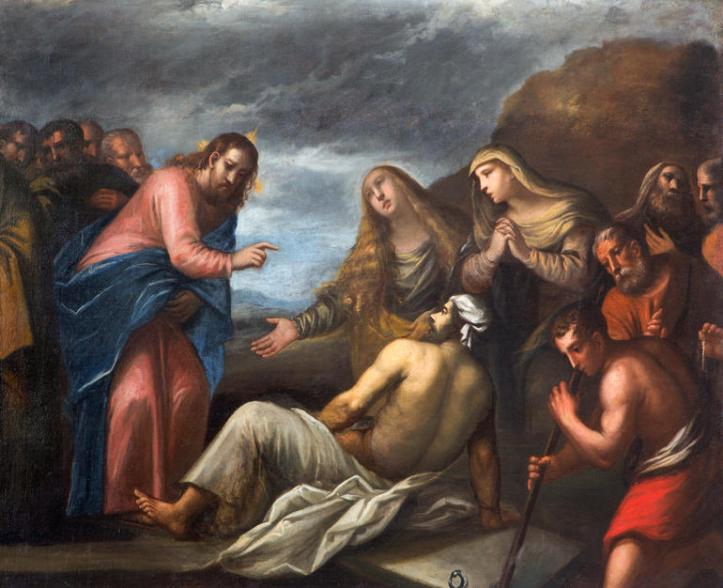 Padua - The Resurrection of Lazarus paint