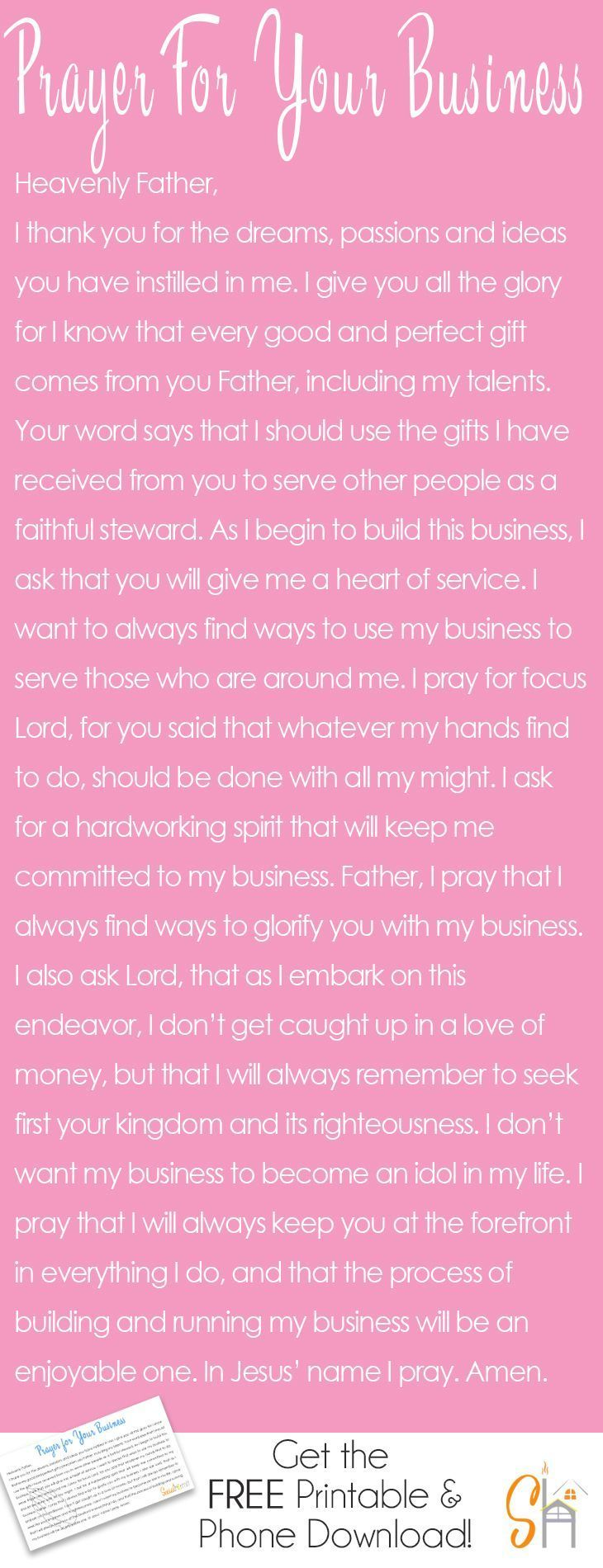 Working on building a business really requires guidance from the Lord. We need h…