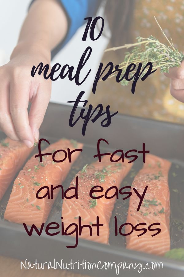 Meal Prep for Fast and Easy Weight Loss