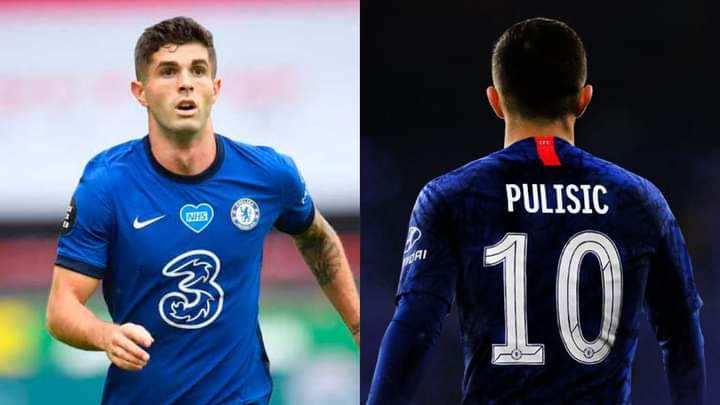 Chelsea Fans Congratulate Christian Pulisic As Chelsea Handed club Number 10  Shirt - Daily Focus Nigeria