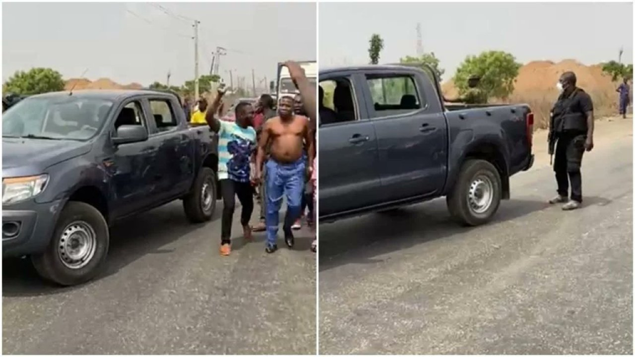 DSS Denies Sunday Igboho Arrest Attempt Despite Viral Video - Daily Focus  Nigeria