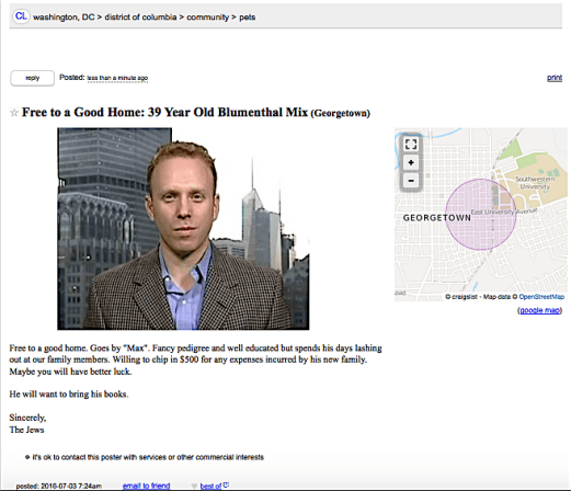 Free to a Good Home Max Blumenthal Daily Freier