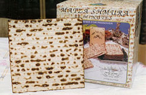 Your gentile friend who just loves matzoh? Well she's an idiot.