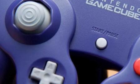 Nintendo Gamecube-Controller im Zoom