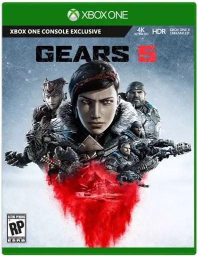 Sieht so das Cover von Gears 5 aus?
