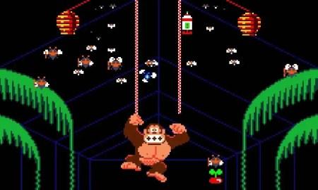 Donkey Kong 3 (NES) - (C) Nintendo