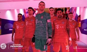 FC Bayern München in PES 2020 - (C) Konami