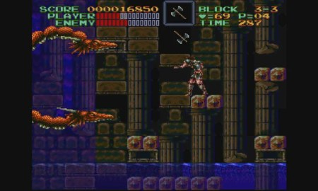 Super Castlevania IV - (C) Konami