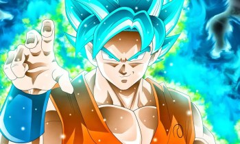 Goku via wallpaperaccess.com