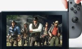 Fotomontage DailyGame.at - Red Dead Redemption 2 für Nintendo Switch - (C) Nintendo, Rockstar, Take-Two
