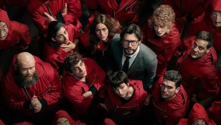 Haus des Geldes - Cast der 4. Staffel