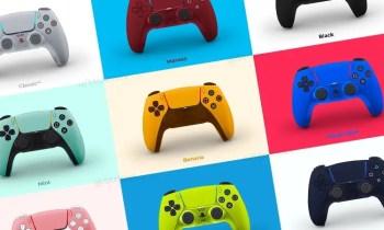 PS5 Dualsense Controller in Farbe