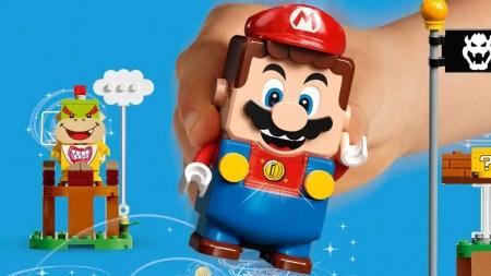 Super Mario als LEGO-Figur. Schon bald im Handel