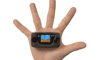 Game Gear Micro - So klein ist die Mini-Konsole von Sega