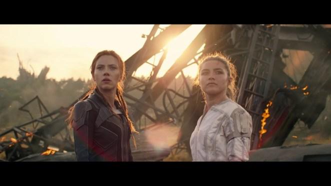 Scarlett Johansson explose tout dans la nouvelle bande-annonce de Black Widow