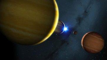 Après des milliards d'années d'harmonie, un lointain système stellaire va sombrer dans le chaos
