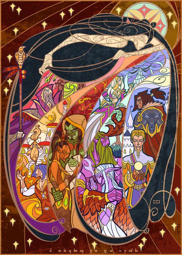 Lotr Fall Wallpaper D 233 Couvrez L Histoire De World Of Warcraft Gr 226 Ce 224 Ces
