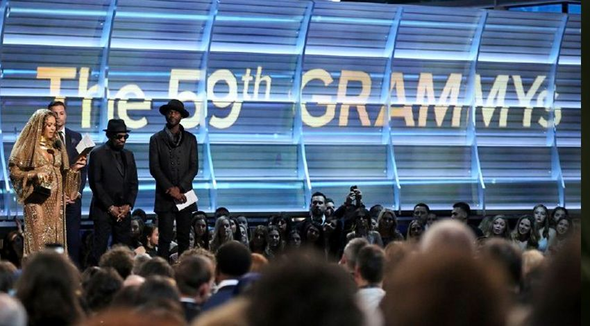 8 Stunning Anti-Trump Protests at the 2017 Grammys