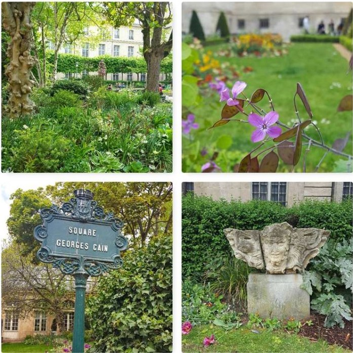 Le Marais Groen Parijs