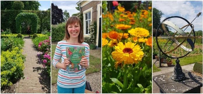 Vera Greutink schreef het boek Edible Garden