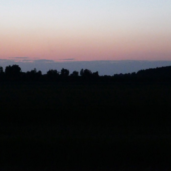 donkere hemel Lauwersmeer