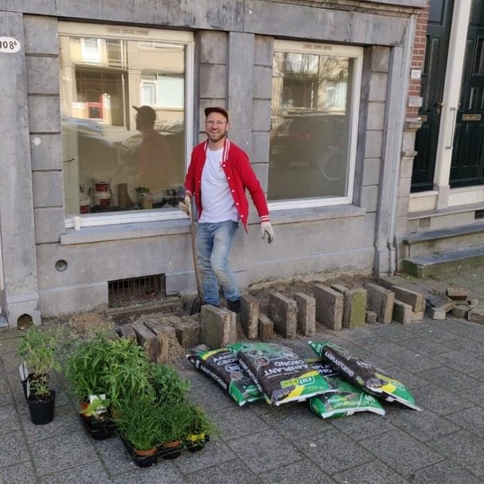 1000 geveltuinen in Rotterdam