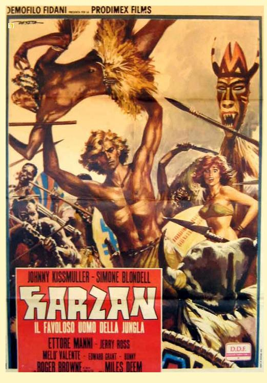 Daily Grindhouse  TRAILER TRASH KARZAN MASTER OF THE JUNGLE 1972  Daily Grindhouse
