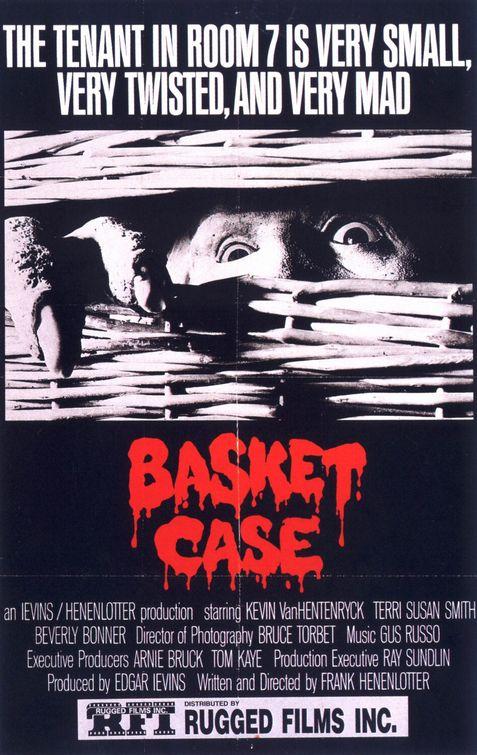 Image result for basket case 1982 vhs cover