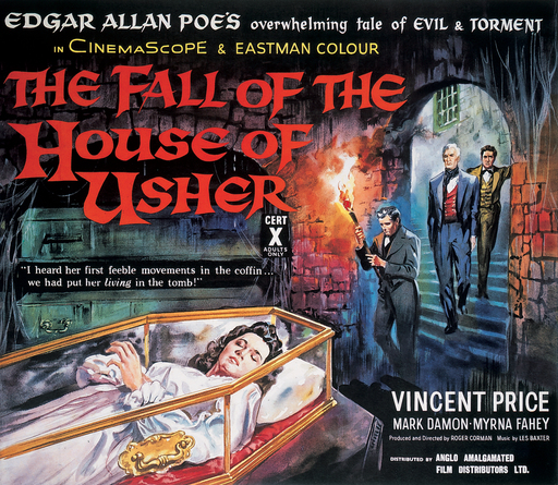 Daily Grindhouse  ELVIRA DEBOOBS UH DEBUTS ON DG WITH A LOOK AT ROGER CORMANS HOUSE OF USHER