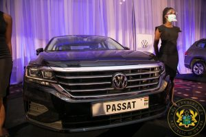 Nana Unveils First Assembled Vehicles In Ghana 1