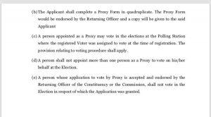 EC Set To Compile Proxy Voters List 2