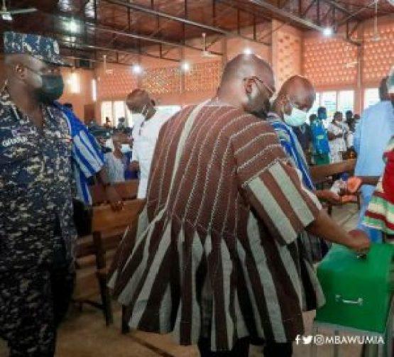 Bawumia Worships With Catholics In Bolga 2