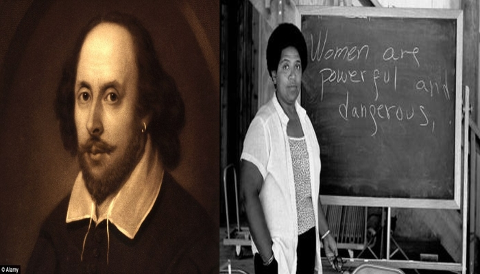 Ivy League Students Tear Down Shakespeare Portrait, Replace It With Black Lesbian Poet For 'Diversity'