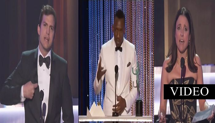 "Celebs Claim To Be ""An American Patriot"", Then ""Welcome"" ILLEGALS To America At SAG Awards"