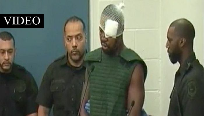 """Accused Cop Killer FREAKS OUT In Court: """"Y'all Makin' Up SH*T! F*CK YOU!"""""""