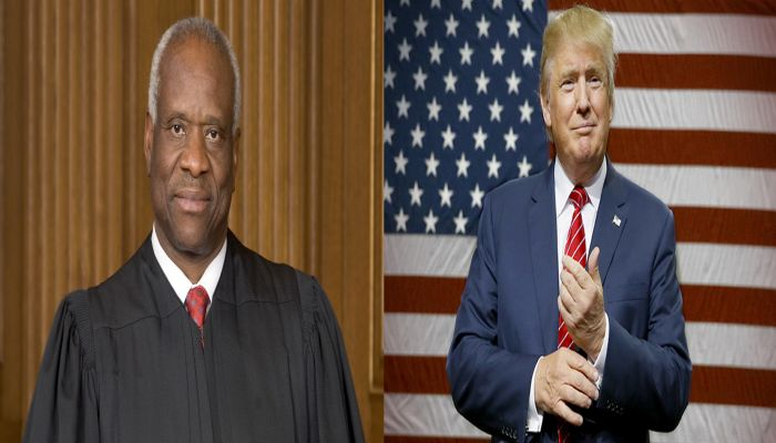 Justice Clarence Thomas Announces Surprise For Trump's Inauguration