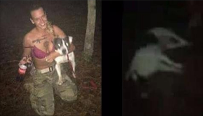 Veteran Learns The Definition Of KARMA After Tying Service Dog To Tree, Shooting It 5 Times