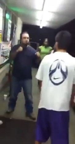 FIGHT: Four Guys Picked the Wrong Crazy Dude to Fight [VIDEO]