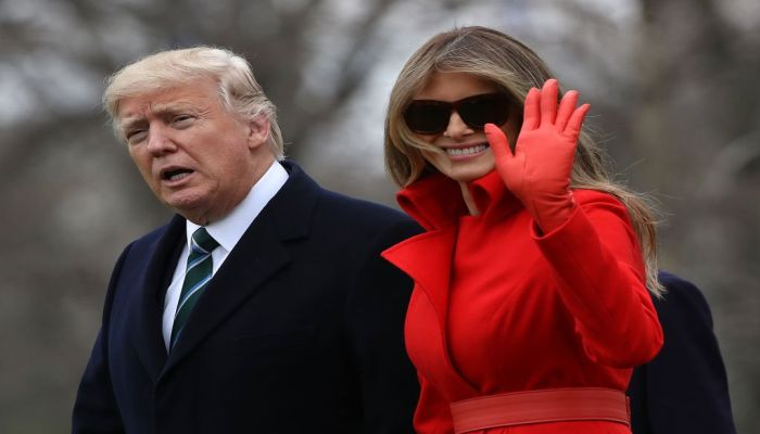 First Lady Melania Opens Up Part Of The White House To Visitors For The First Time IN HISTORY [PHOTO]