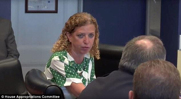 Debbie Wasserman Schultz Threatens Chief of Capitol Police [VIDEO]