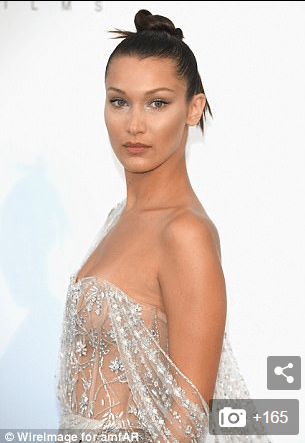 Bella Hadid: Nice Dress She is Almost Wearing: No Imagination Needed [VIDEO and SLIDESHOW]