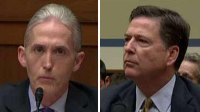 Internet, Conservative Pundits and Even a Democrat Calls For Gowdy to Replace Comey