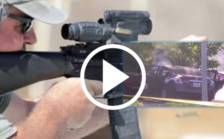 Thugs Attempt Drive-By Shooting, Texas Homeowner Has Other Plans [WATCH]