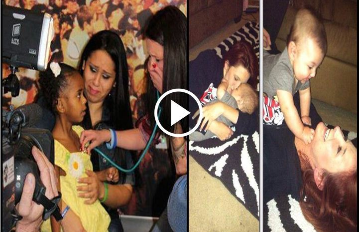 Mom Hears Baby Son's Heartbeat In A Little Girl's Chest Four Years After His Death