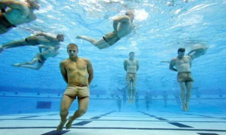 Navy SEAL Drown Proofing